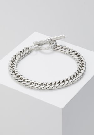CHUNKY CHAIN - Bransoletka - silver-coloured