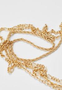 Topman - FINE ALL TYP SET - Collana - gold-coloured - 4