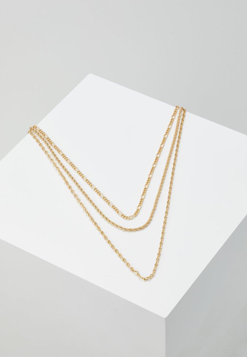 Topman - FINE ALL TYP SET - Collana - gold-coloured