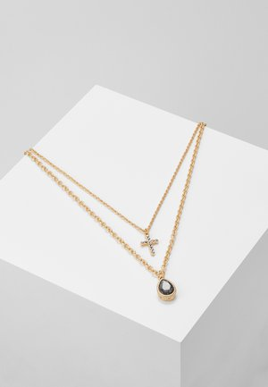 TEARDROP CROSS SET - Collana - gold-coloured