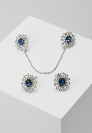 COLLAR TIP AND CUFF LINK SET - Other - blue