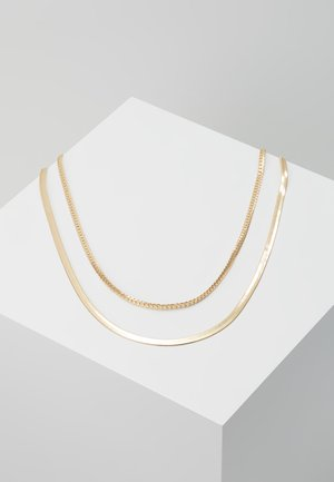 SIMPLE CHAIN 2 PACK - Halskæder - gold-coloured