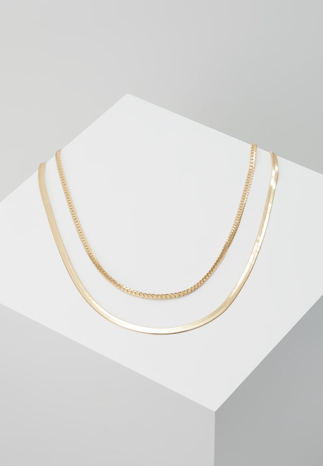 SIMPLE CHAIN 2 PACK - Kaulakoru - gold-coloured