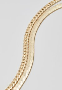Topman - SIMPLE CHAIN 2 PACK - Collar - gold-coloured - 3