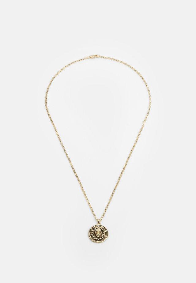 LION DISC PENDANT - Halskette - gold-coloured