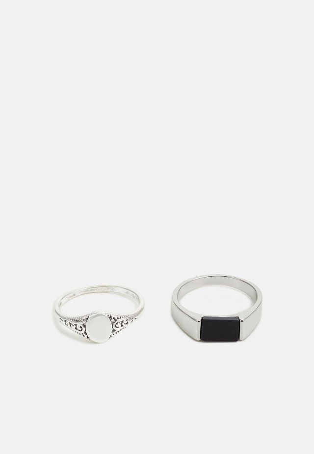 SIGNET PIN 2 PACK - Ringar - silver-coloured