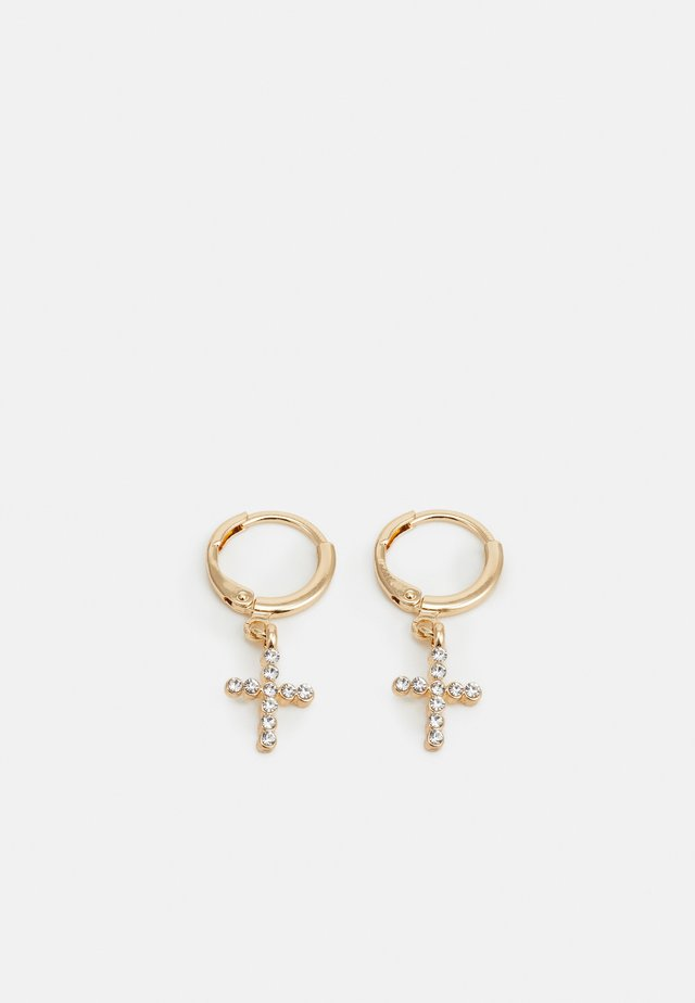 CROSS DRO - Boucles d'oreilles - gold-coloured