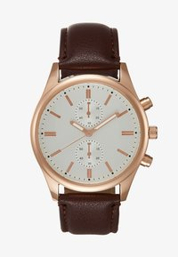 Topman - VINTAGE DOUBLE - Watch - brown - 1