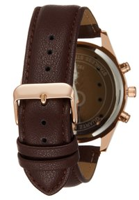 Topman - VINTAGE DOUBLE - Watch - brown - 2