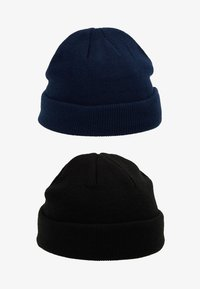 Topman - DOCKER BEANIE 2 PACK - Beanie - blue/black - 3