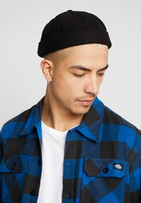 Topman - MELTON DOCKER - Hatt - black - 1