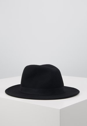 MELTON FEDORA - Hat - black