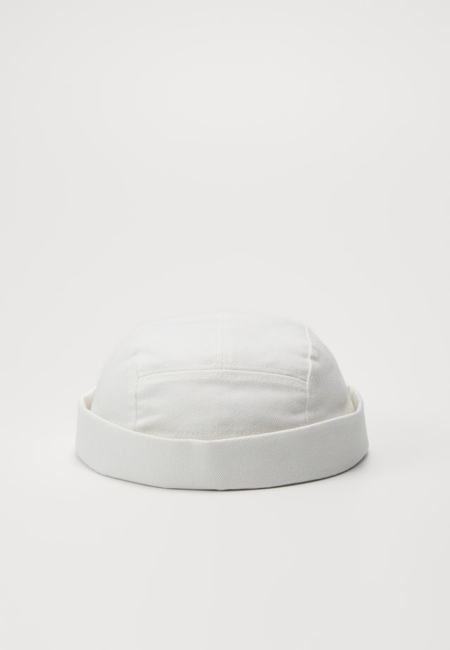 DENIM DOCKER - Hattu - white