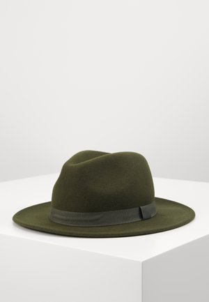 MELTON FEDORA - Hat - khaki