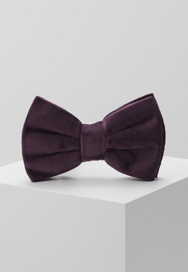BOW TIE - Fliege - burgundy
