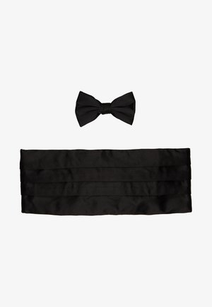BOW TIE AND CUMERBAND SET - Motýlek - black