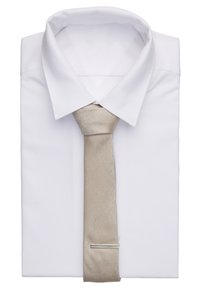 Topman - POCKET AND BAR SET - Tie - beige - 1