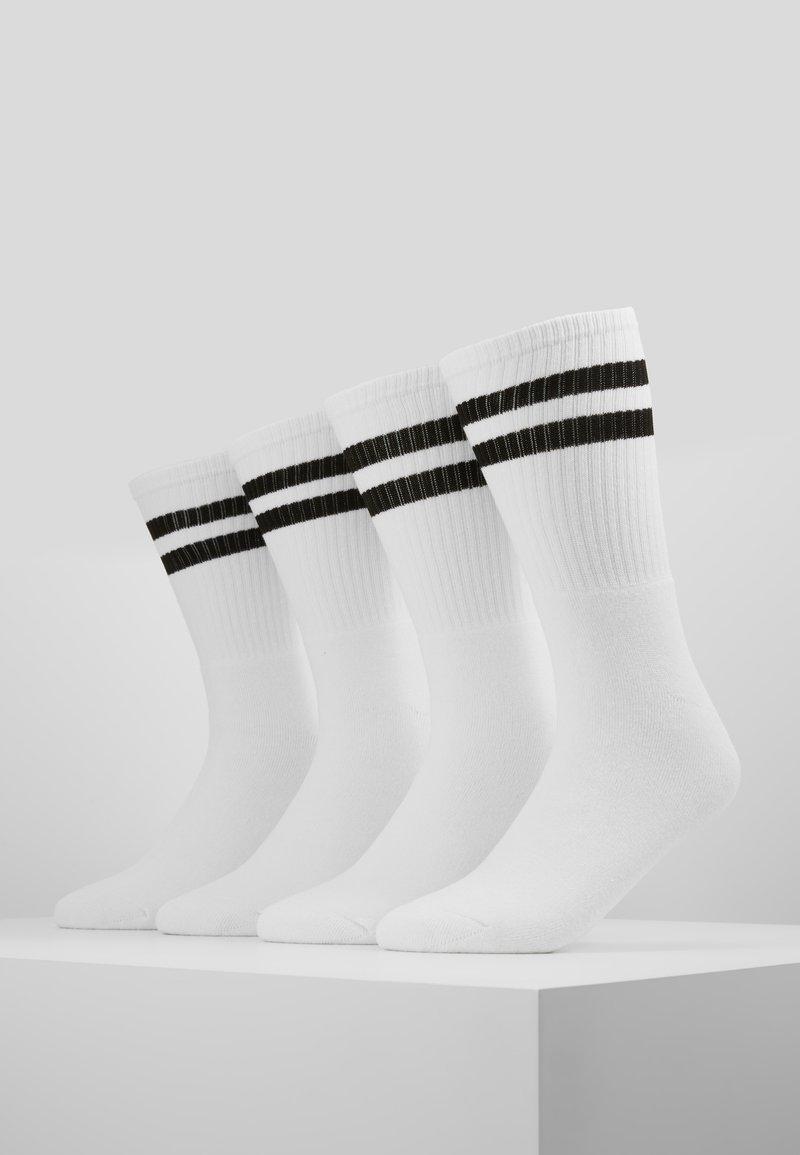 Topman - TUBE SOCKS 4 PACK - Socken - white