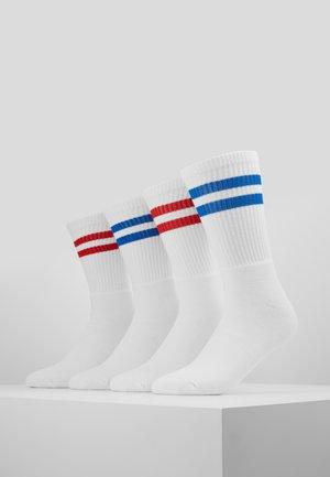 TUBE SOCKS 4 PACK - Sokker - white/red/blue