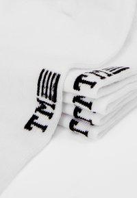 Topman - PLAIN TRAINER 5 PACK - Socks - white - 2