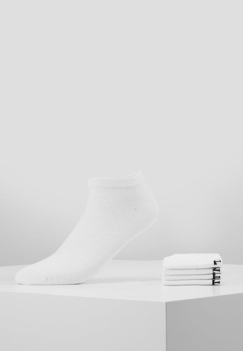 Topman - PLAIN TRAINER 5 PACK - Socks - white