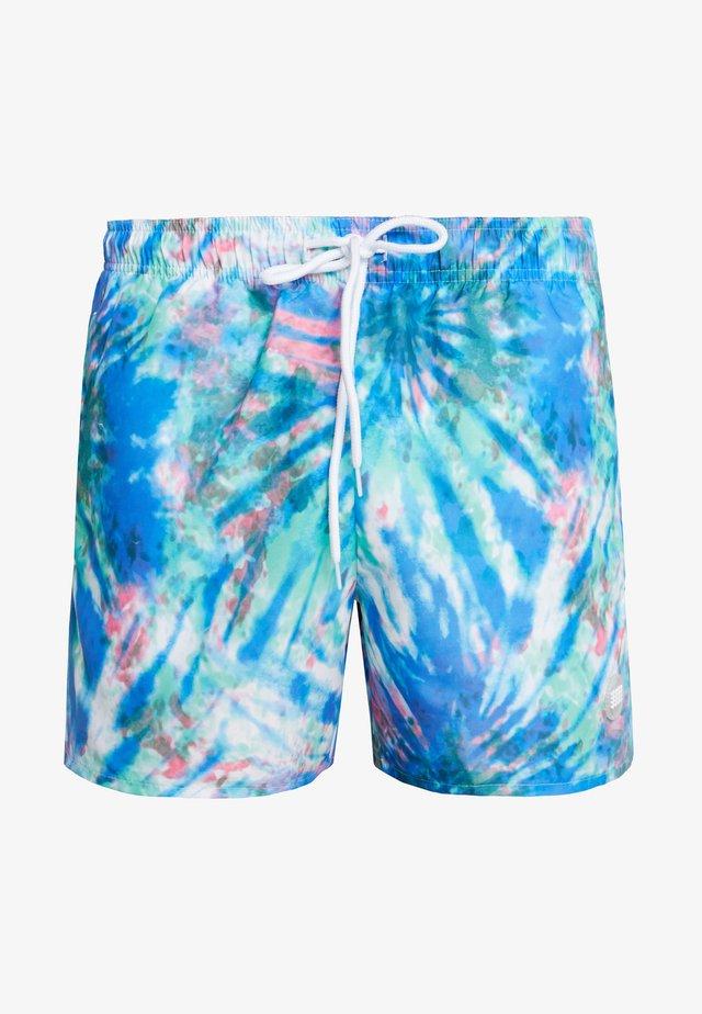 TYE DYE SWIM - Shorts da mare - blue/multi-coloured