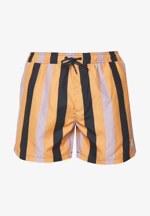 STRIPE - Shorts da mare - orange