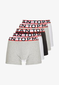 Topman - SPORTS TIPPING 5 PACK - Onderbroeken - white/grey/dark blue - 3