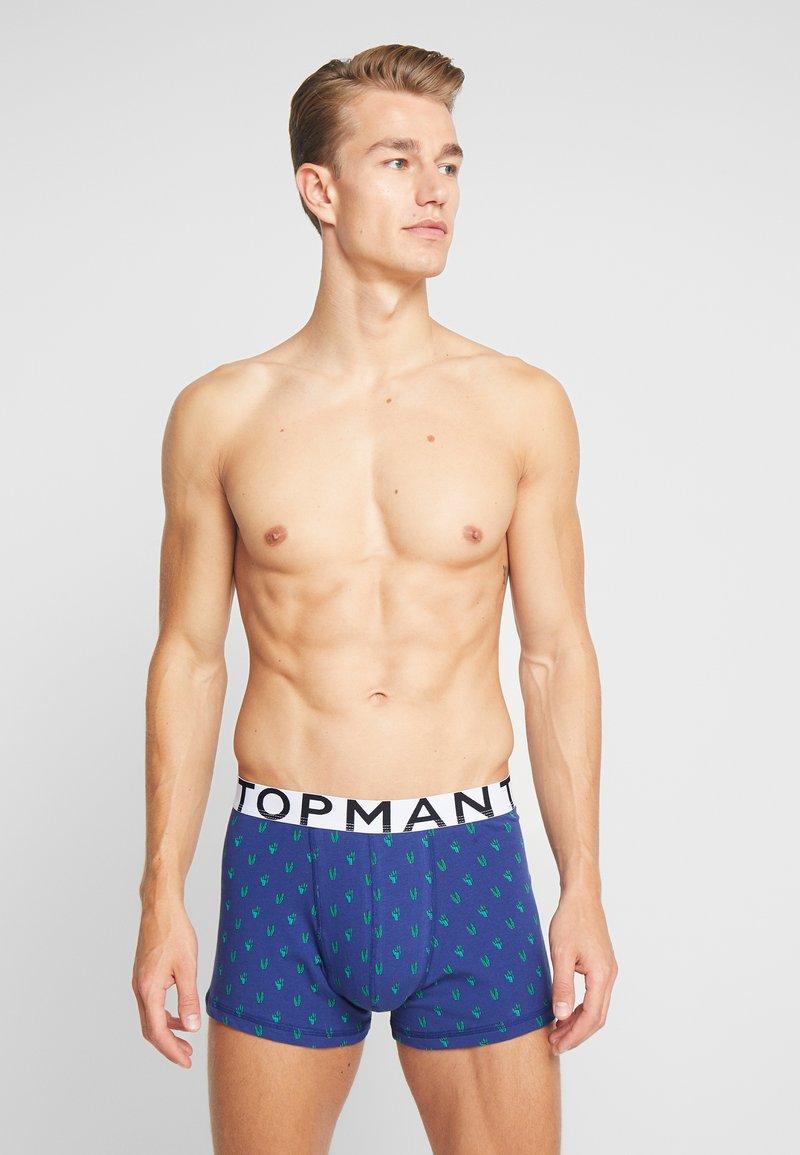 Topman - CACTUS MOTIF 3PACK - Underkläder - pink/ black/dark blue