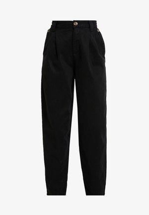 CAITLIN UPDATE - Spodnie materiałowe - black