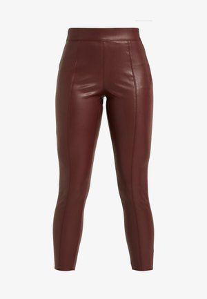 PIPER - Trousers - oxblood