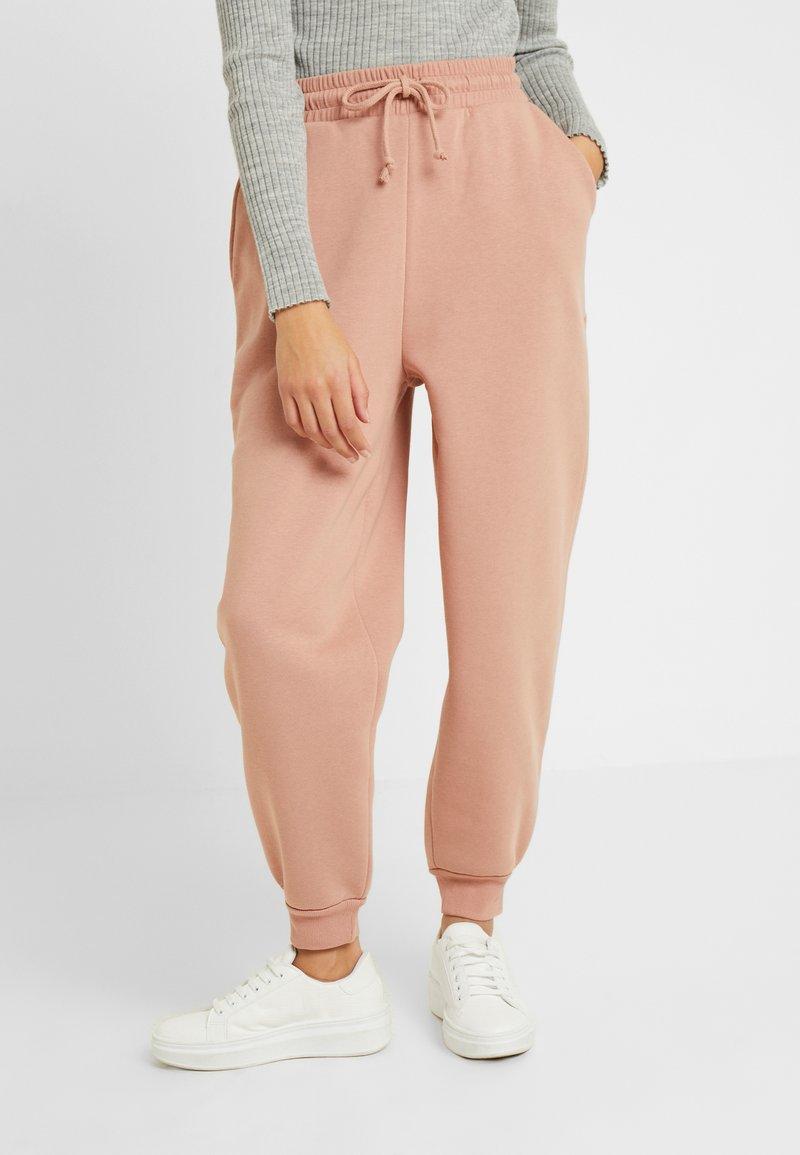 Topshop Petite - CLEAN SOFT JOGGER - Trainingsbroek - pink