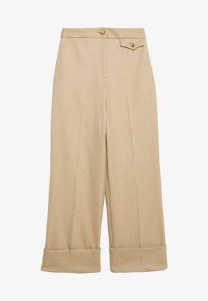 ASTEN WIDE - Pantalones - camel