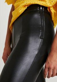 Topshop Petite - PIPER  SKINNY - Legging - black - 5