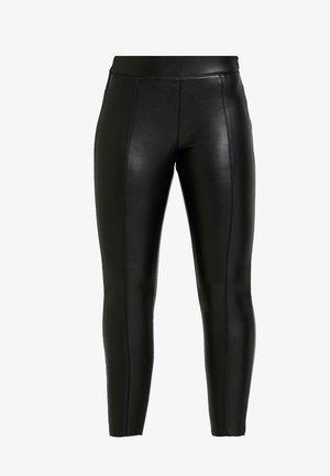 PIPER  SKINNY - Leggings - Trousers - black