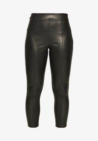 Topshop Petite - PIPER - Kalhoty - black - 3