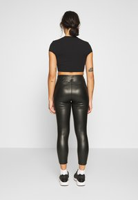 Topshop Petite - PIPER - Kalhoty - black - 2