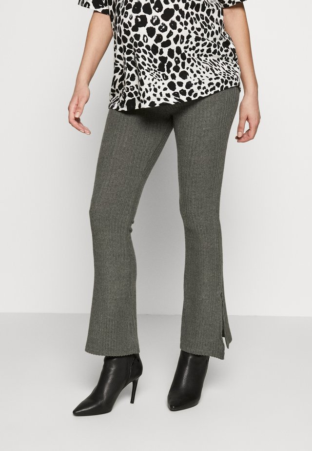 FLARE - Spodnie materiałowe - mint