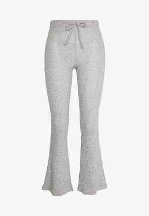 TIE FLARE - Kalhoty - grey