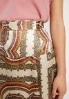 Topshop Petite - SCARF PRINT SKIRT - A-Linien-Rock - multi-coloured