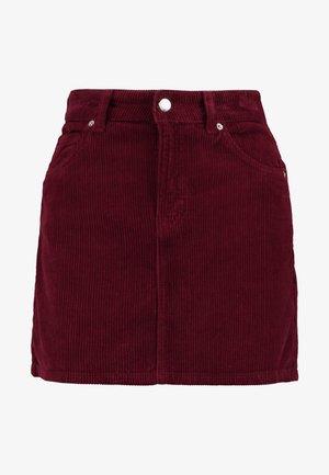 Mini skirt - burg