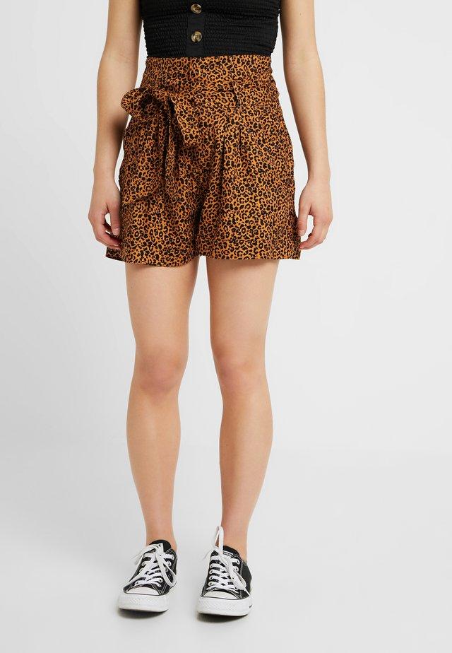 Shorts - brown/black