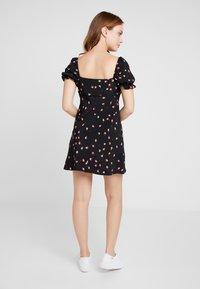 Topshop Petite - MINI SQUARE NECK DRESS - Denní šaty - multi-coloured - 2