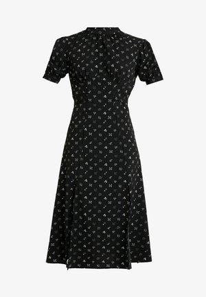 CONVERSATIONAL MIDI DRESS - Robe d'été - black