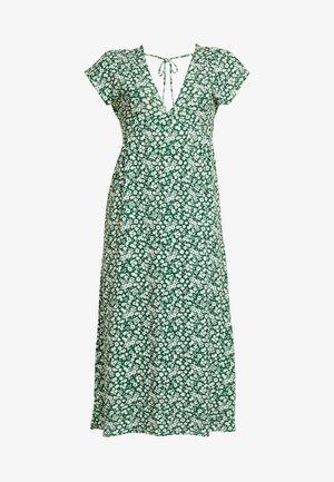 DITSY CHUCKON - Jersey dress - green