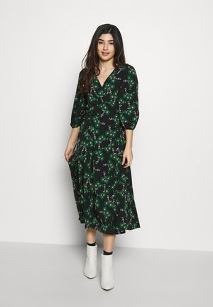 NEW TWIST AUSTIN - Denní šaty - green