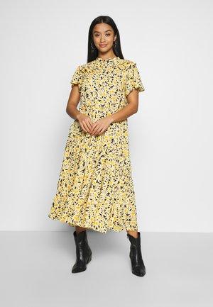 DAISY GRANDAD  - Shirt dress - yellow