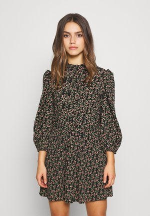 PINTUCK VINTAGE MINI - Robe d'été - black