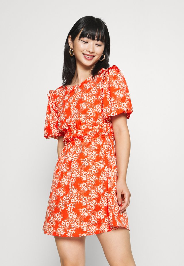 PUFF - Day dress - red