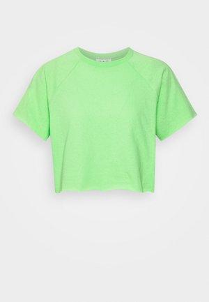RAGLAN CROP TEE - T-shirt basic - green